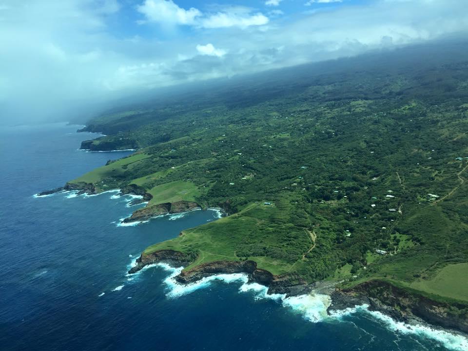 Garden Isle from the sky, Hawaii