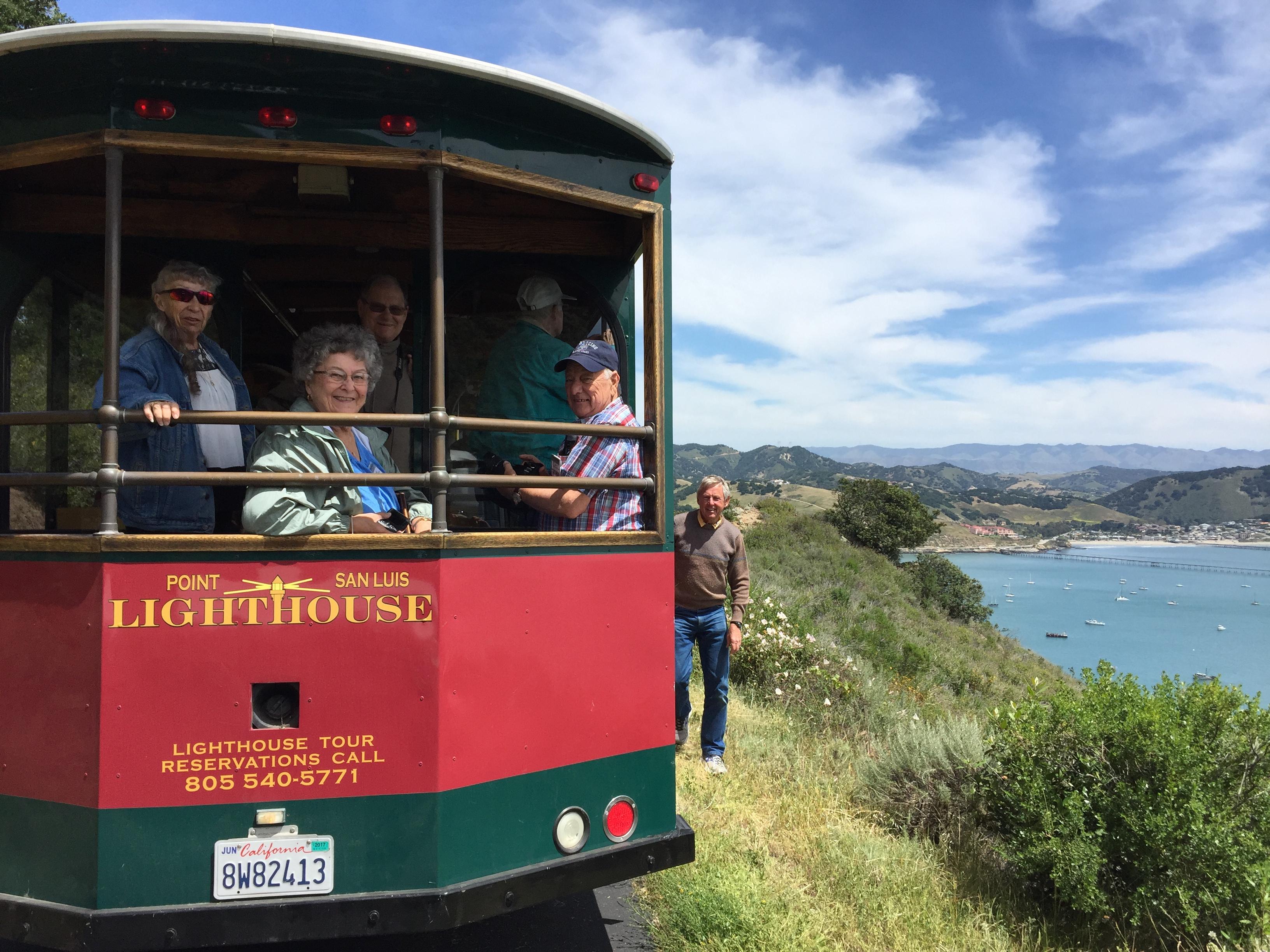 Tram tour on the coast