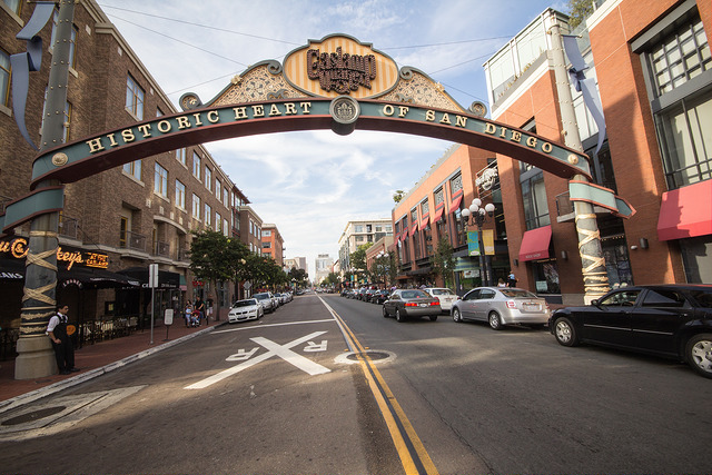 San Diego city street