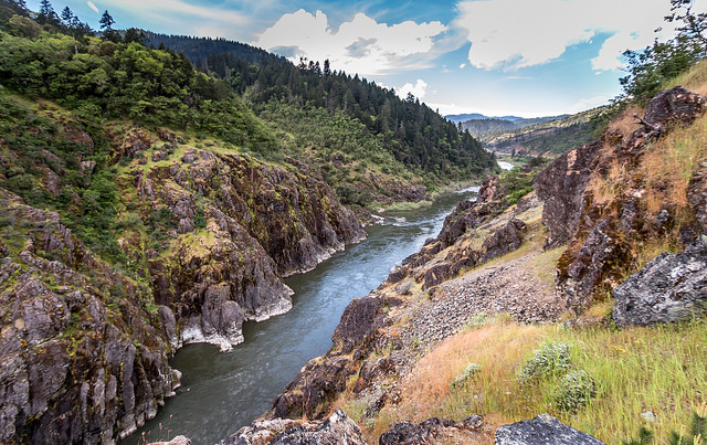 Hellgate Canyon River