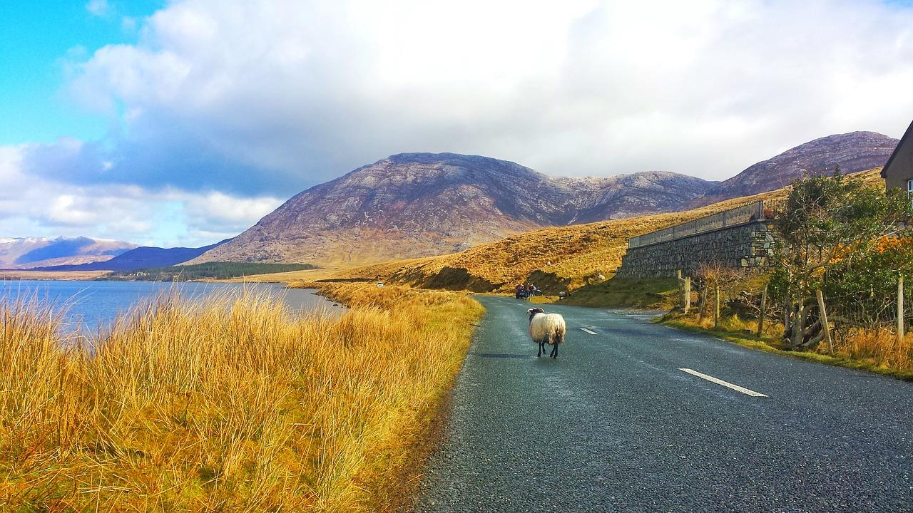 A road in Connermara, Ireland