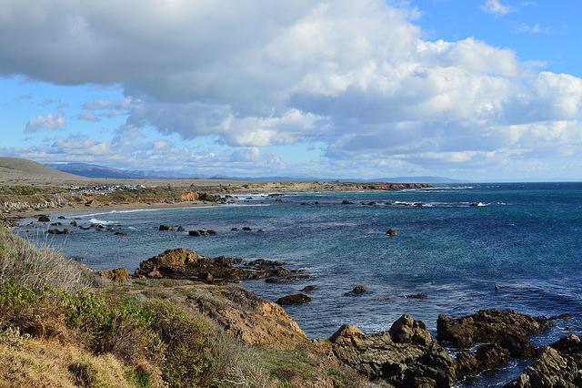 San Luis Obispo County coastline