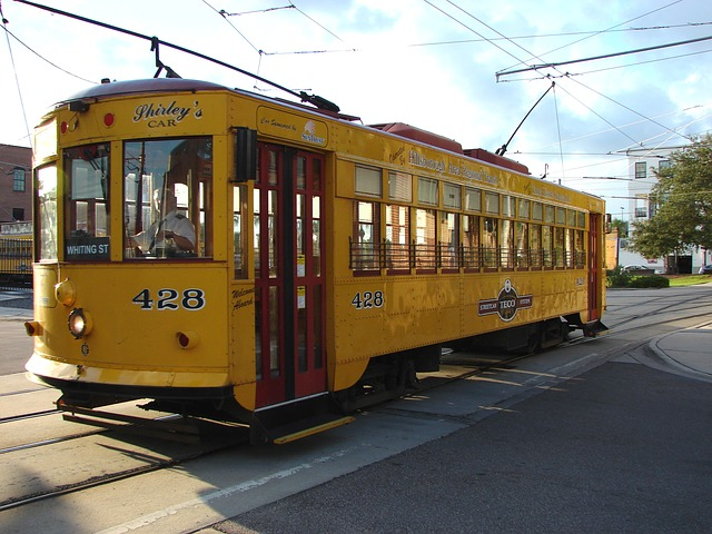 Streetcar in Florida Ybor City