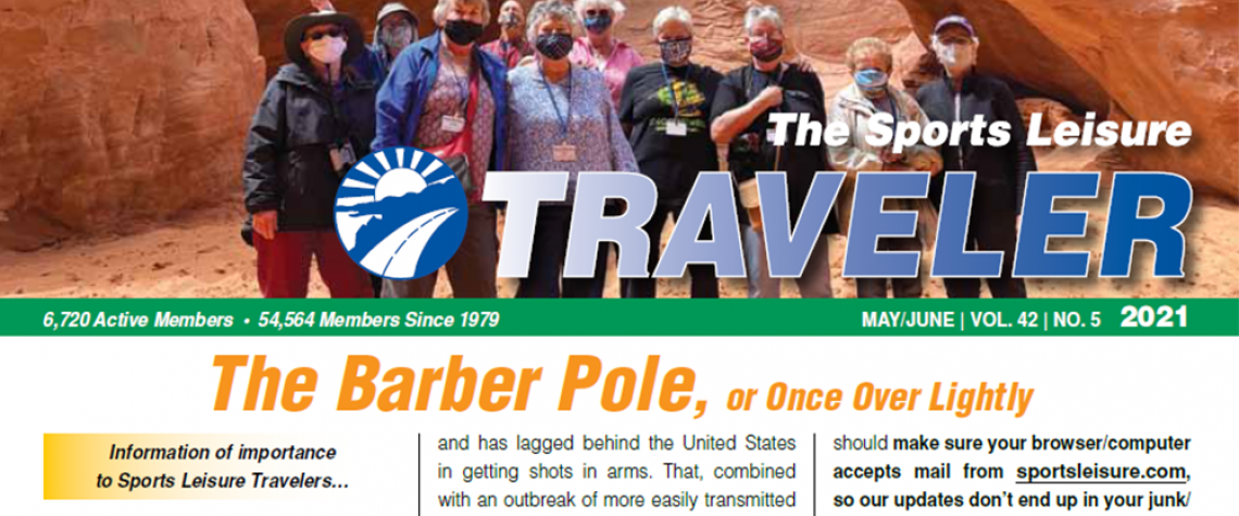 Cover of May June Newsletter