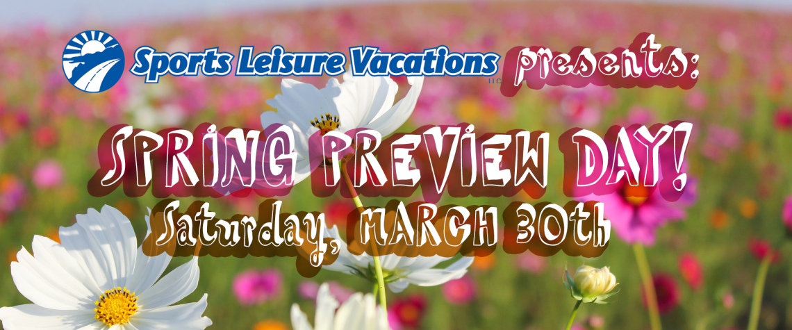 Spring Preview Day banner