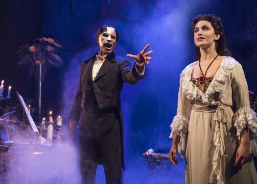 Scene from The Phantom of The Opera