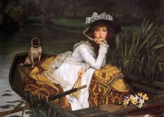 James Tissot's Young Lady in a Boat