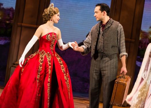 Lila Coogan (Anya) and Stephen Brower (Dmitry)