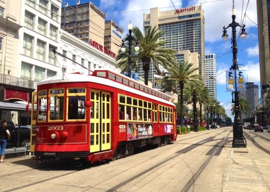 New Orleans streetcar by Didier Moïse