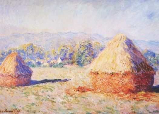 Grainstacks in the Sunlight, Morning Effect 1890–91