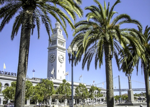 San Francisco's Embarcadero Ferry Building