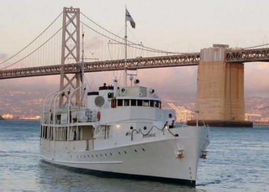 USS Potomac on the Oakland Bay