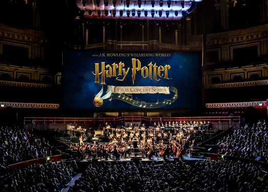 Harry Potter Film Concert Series courtesy of SHN