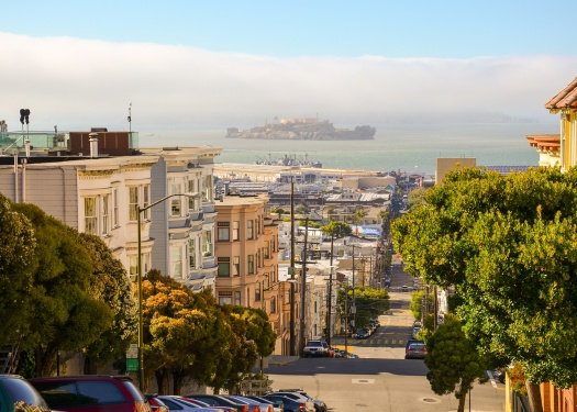 View of San Francisco street