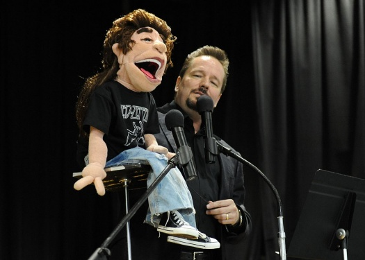 Terry Fator on stage