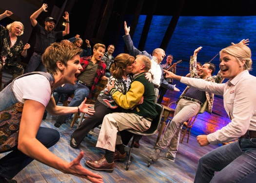 The cast of Come From Away