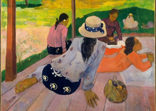 Paul Gauguin's The Siesta