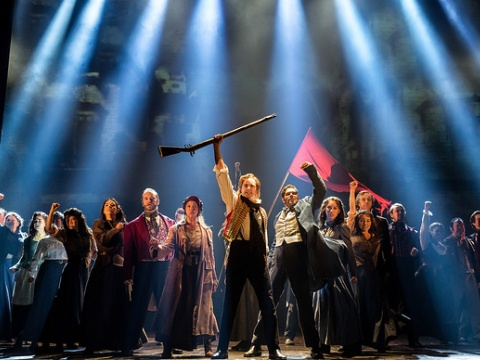 Photo of Les Miserables production by Matthew Murphy