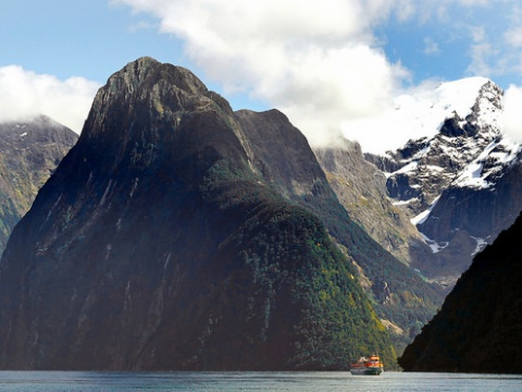 Milford Sound, New Zealand cruise