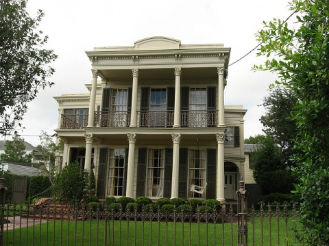 Building on First Street, Garden District, New Orleans