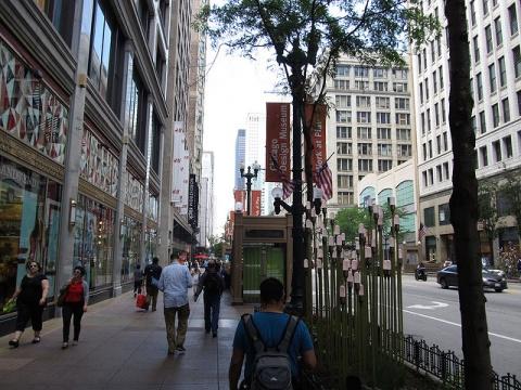 Loop Retail Historic District, Chicago, Illinois