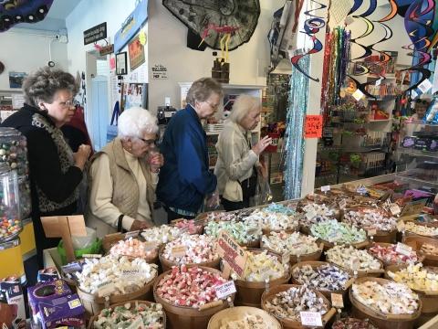 Bodega Bay candy store
