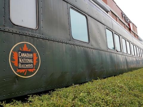 Train in Nova Scotia