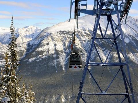Banff Gondola, Sulpher Mountain, Canada