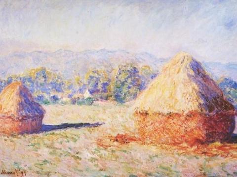 Grainstacks in the Sunlight, Morning Effect 1890–91