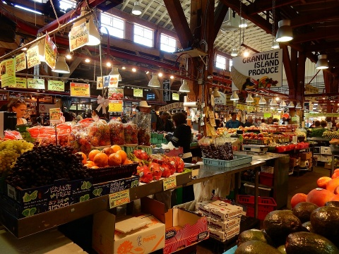Vancouver Granville Island Market