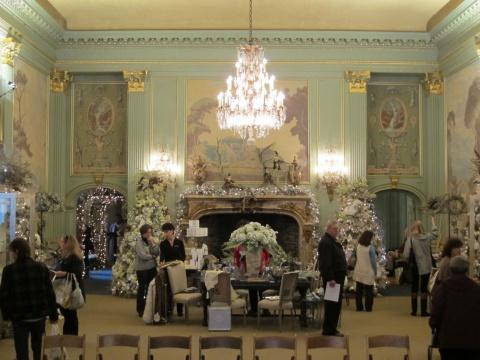 Inside Filoli mansion