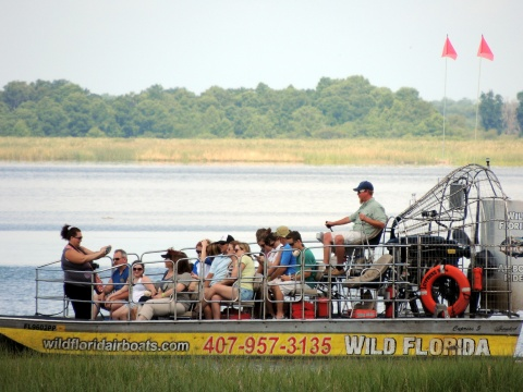 Airboat excursion