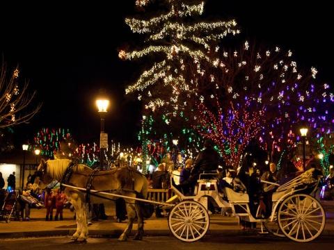 Glendale Christmas lights