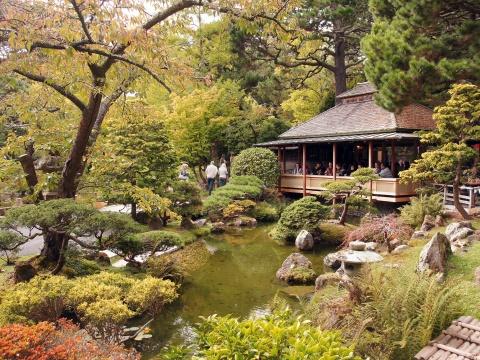 San Francisco Golden Gate Park, Japanese Tea Garden