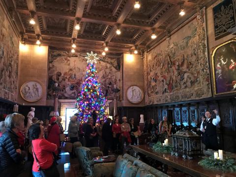 Inside of Hearst Castle