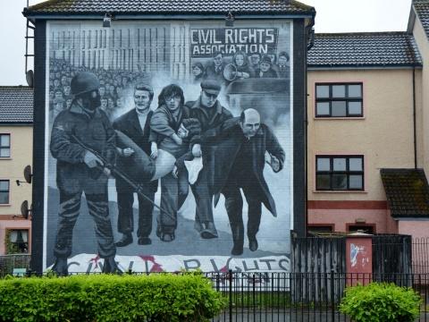 Derry walls mural