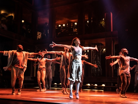 The company of the North American Tour of JESUS CHRIST SUPERSTAR