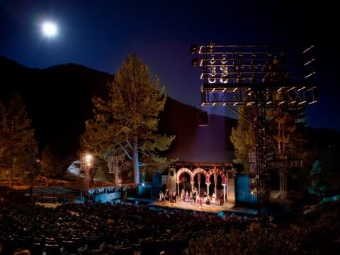 Joy Strotz's photo of the stage