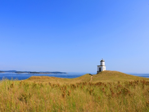 Lighthouse on San Juan Island, Washington