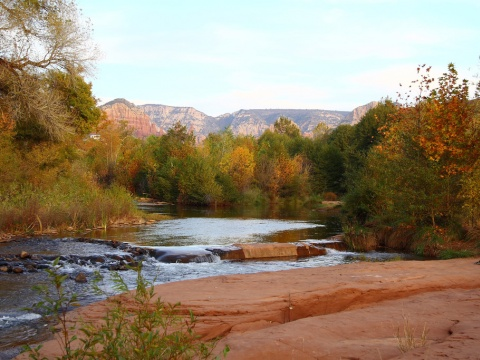 Oak Creek in Sedona