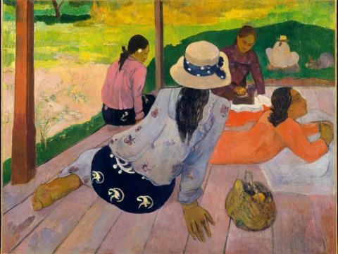 Paul Gauguin's The Siesta