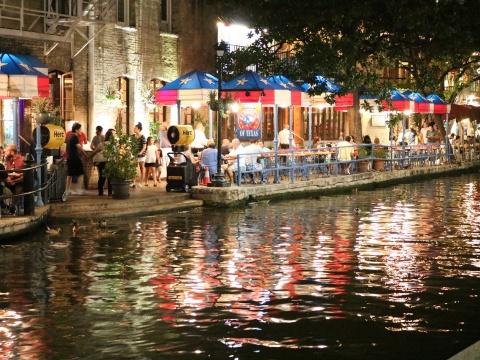 San Antonio Riverwalk in Texas