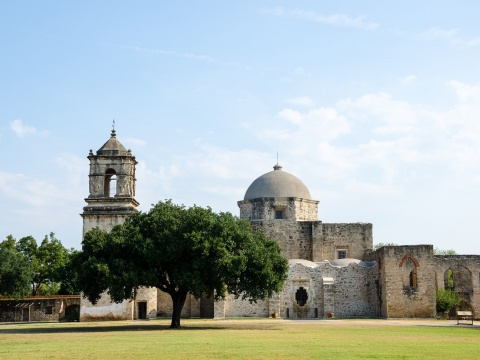San Jose Mission in Texas
