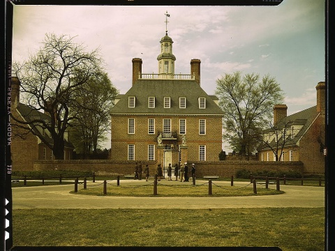 Williamsburg Virginia Governor's Palace