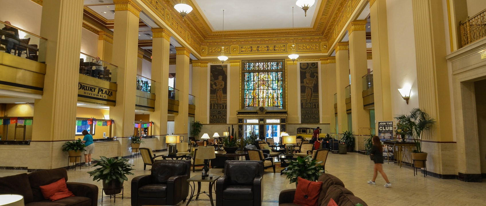 Drury Plaza hotel lobby by Mark Levisay